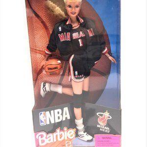 Barbie NBA Miami Heat- Authentic NBA Uniform 1998